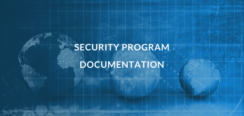 A List of Information Security Program Documentation