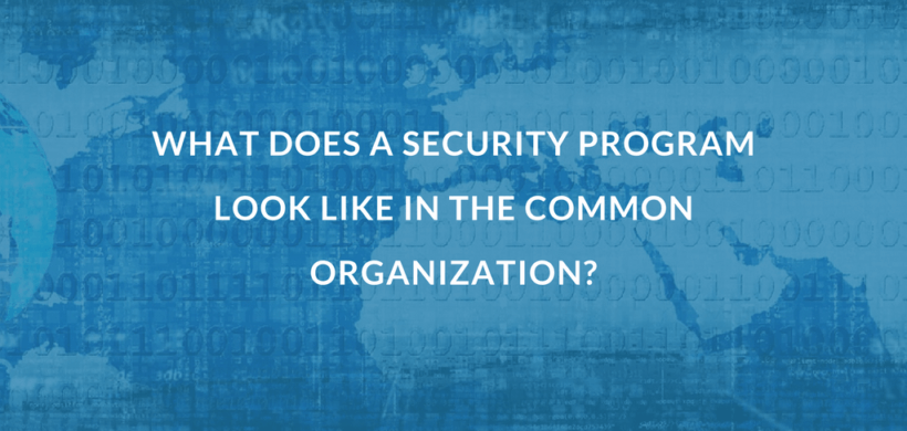 What Does a Security Program Look Like?