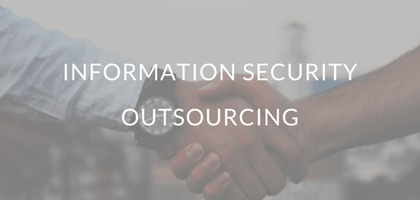Information Security Outsourcing