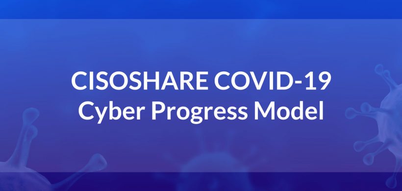 CISOSHARE COVID-19 Cyber Security Progress Model